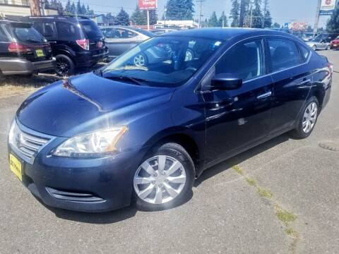 2014 Nissan Sentra for sale at SS MOTORS LLC in Edmonds WA