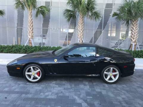 2005 Ferrari 575M for sale at Classic Car Deals in Cadillac MI