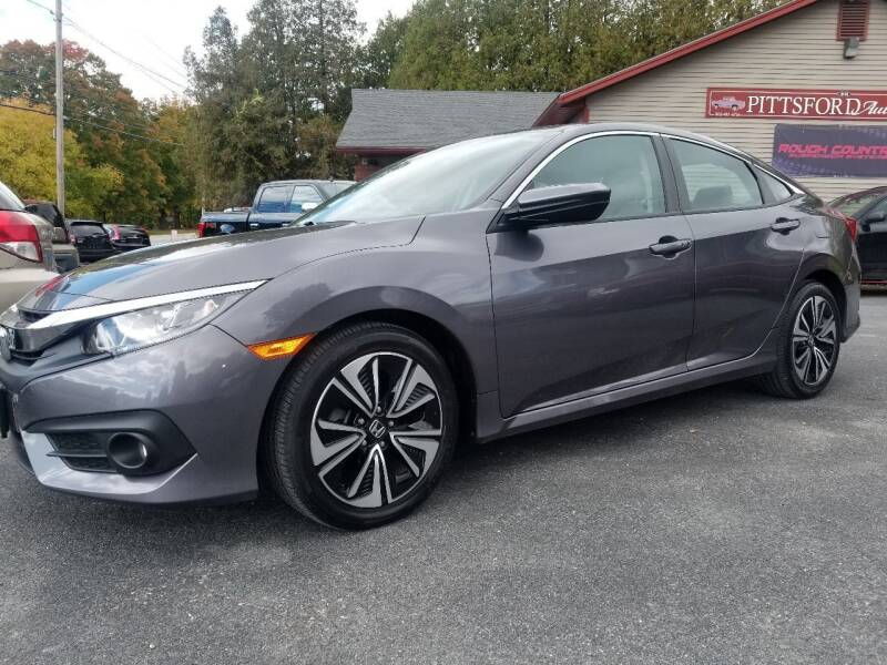 2017 Honda Civic for sale at Pittsford Automotive Center in Pittsford VT