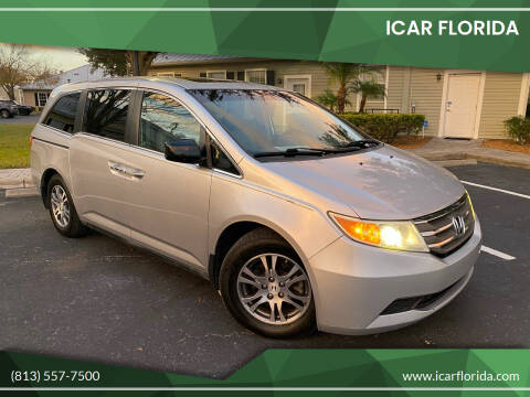 2012 Honda Odyssey for sale at ICar Florida in Lutz FL