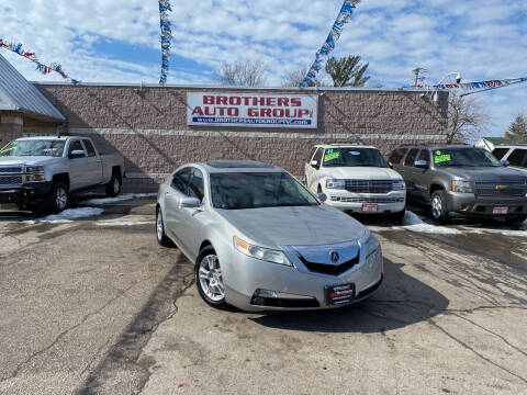 2009 Acura TL for sale at Brothers Auto Group in Youngstown OH