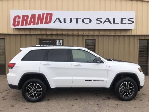 2020 Jeep Grand Cherokee for sale at GRAND AUTO SALES in Grand Island NE