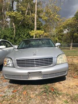 2003 Cadillac DeVille for sale at Noble PreOwned Auto Sales in Martinsburg WV