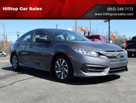 2018 Honda Civic for sale at Hilltop Car Sales in Knox TN
