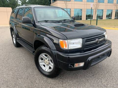 2000 Toyota 4Runner for sale at Car Match in Temple Hills MD