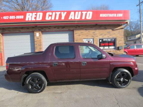 2007 Honda Ridgeline for sale at Red City  Auto in Omaha NE