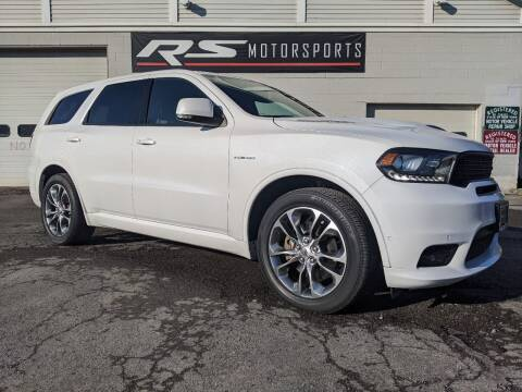 2020 Dodge Durango for sale at RS Motorsports, Inc. in Canandaigua NY