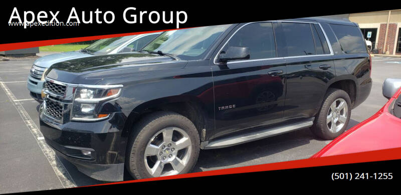2015 Chevrolet Tahoe for sale at Apex Auto Group in Cabot AR