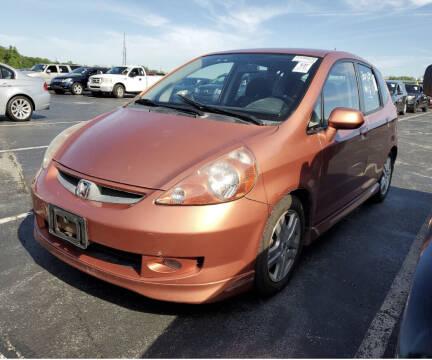 2007 Honda Fit for sale at Kansas Car Finder in Valley Falls KS