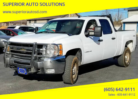 2008 Chevrolet Silverado 2500HD for sale at SUPERIOR AUTO SOLUTIONS in Spearfish SD