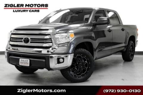 2016 Toyota Tundra for sale at Zigler Motors in Addison TX