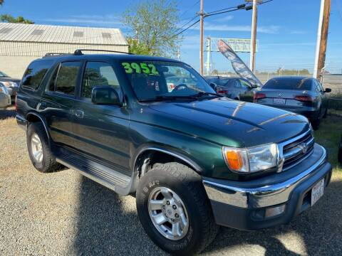 2000 Toyota 4Runner for sale at Quintero's Auto Sales in Vacaville CA