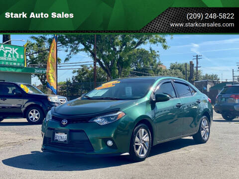 2014 Toyota Corolla for sale at Stark Auto Sales in Modesto CA
