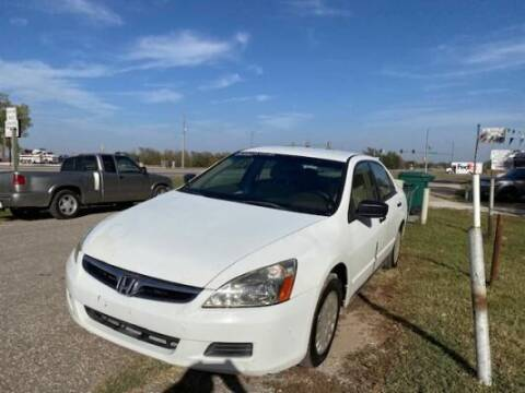 2007 Honda Accord for sale at Car Solutions llc in Augusta KS