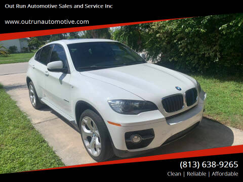 2010 BMW X6 for sale at Out Run Automotive Sales and Service Inc in Tampa FL