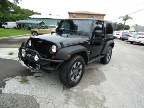 2012 Jeep Wrangler for sale at S & T Motors in Hernando FL