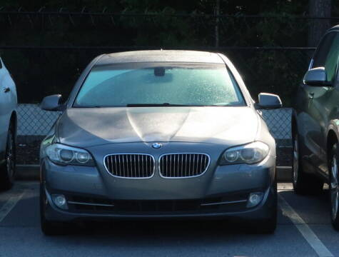 2012 BMW 5 Series for sale at Southern Auto Solutions - BMW of South Atlanta in Marietta GA
