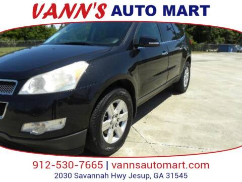 2011 Chevrolet Traverse for sale at VANN'S AUTO MART in Jesup GA