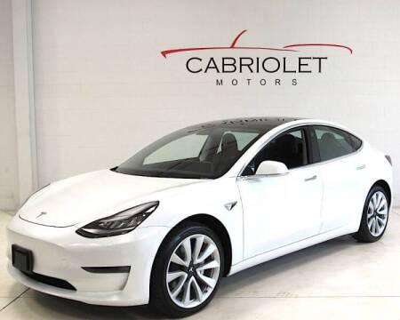 2020 Tesla Model 3 for sale at Cabriolet Motors in Morrisville NC