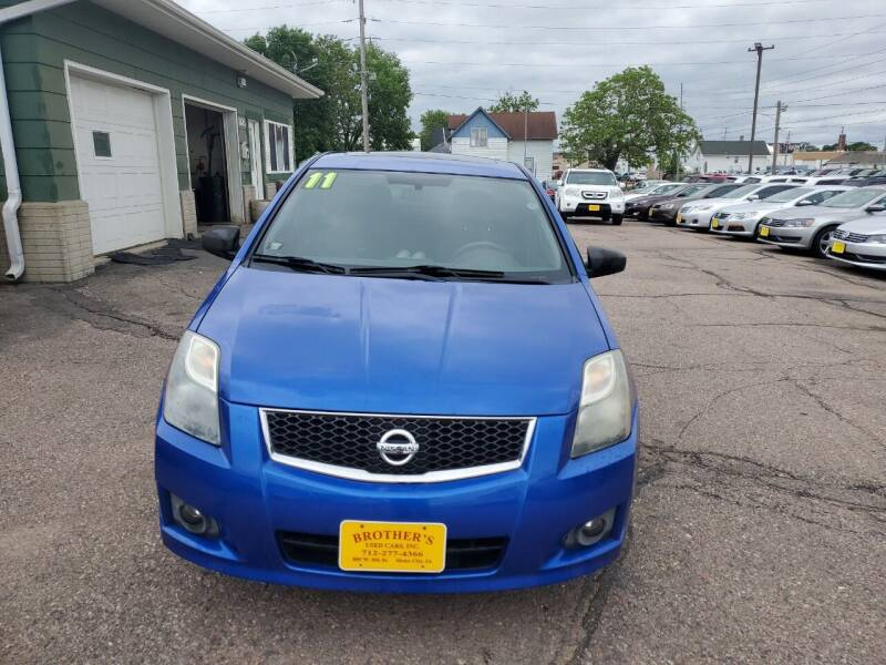 2011 Nissan Sentra for sale at Brothers Used Cars Inc in Sioux City IA