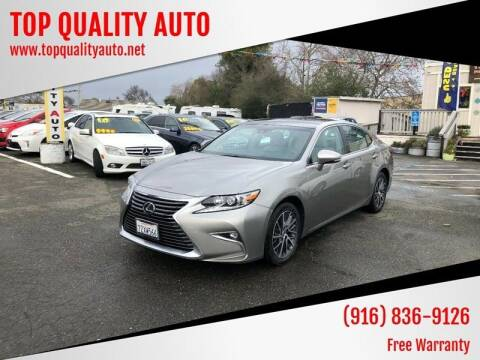 2017 Lexus ES 350 for sale at TOP QUALITY AUTO in Rancho Cordova CA