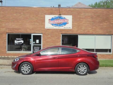 2016 Hyundai Elantra for sale at Eyler Auto Center Inc. in Rushville IL