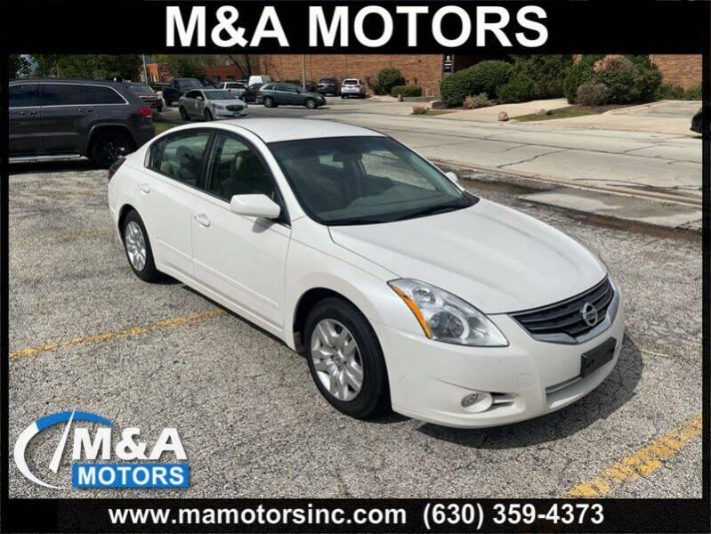 2012 Nissan Altima for sale at M & A Motors in Addison IL