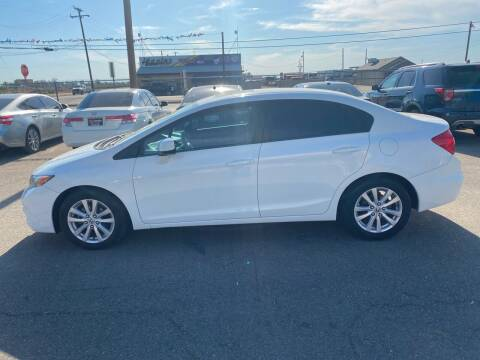 2012 Honda Civic for sale at First Choice Auto Sales in Bakersfield CA