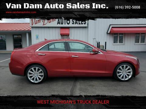 2014 Cadillac ATS for sale at Van Dam Auto Sales Inc. in Holland MI