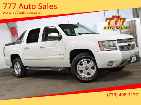 2007 Chevrolet Avalanche for sale at 777 Auto Sales in Bedford Park IL