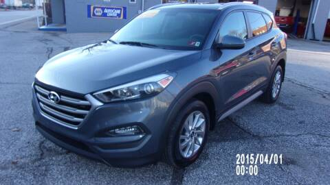 2017 Hyundai Tucson for sale at Allen's Pre-Owned Autos in Pennsboro WV