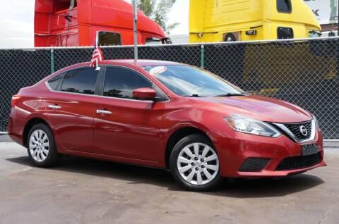 2017 Nissan Sentra for sale at MATRIX AUTO SALES INC in Miami FL