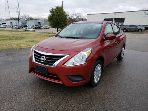 2016 Nissan Versa for sale at Image Auto Sales in Dallas TX