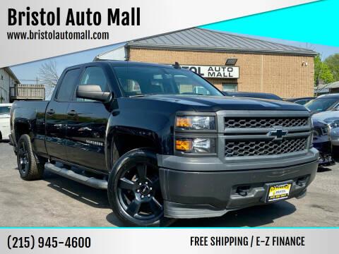 2015 Chevrolet Silverado 1500 for sale at Bristol Auto Mall in Levittown PA
