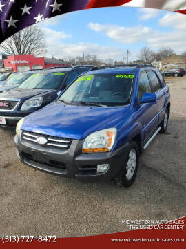 "2006 Kia Sportage for sale at MIDWESTERN AUTO SALES        ""The Used Car Center"" in Middletown OH"