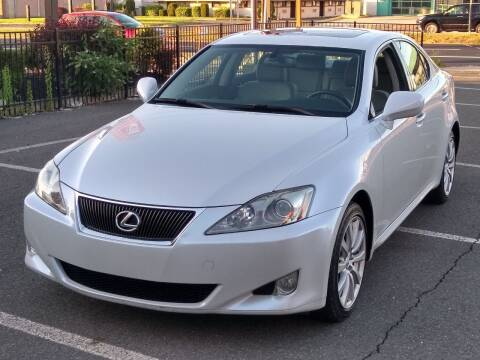 2007 Lexus IS 250 for sale at MAGIC AUTO SALES in Little Ferry NJ