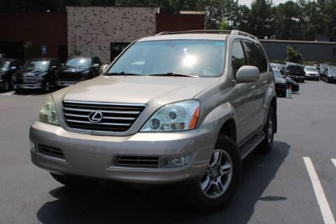 2005 Lexus GX 470 for sale at Atlanta Unique Auto Sales in Norcross GA
