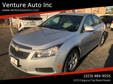 2012 Chevrolet Cruze for sale at Venture Auto Inc in South Gate CA