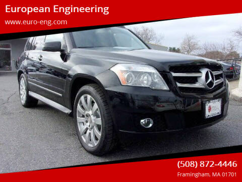 2010 Mercedes-Benz GLK for sale at European Engineering in Framingham MA