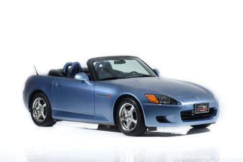 2002 Honda S2000 for sale at Motorcar Classics in Farmingdale NY