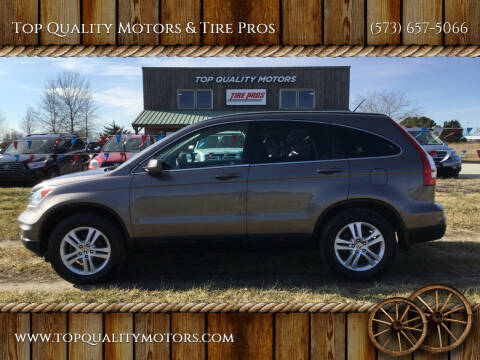 2011 Honda CR-V for sale at Top Quality Motors & Tire Pros in Ashland MO