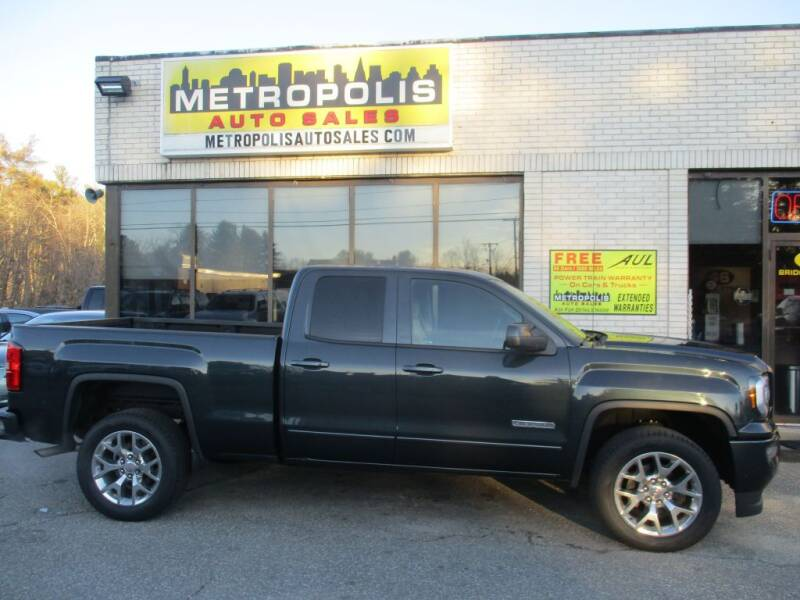2019 GMC Sierra 1500 Limited for sale at Metropolis Auto Sales in Pelham NH