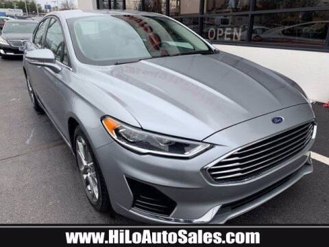 2020 Ford Fusion for sale at Hi-Lo Auto Sales in Frederick MD