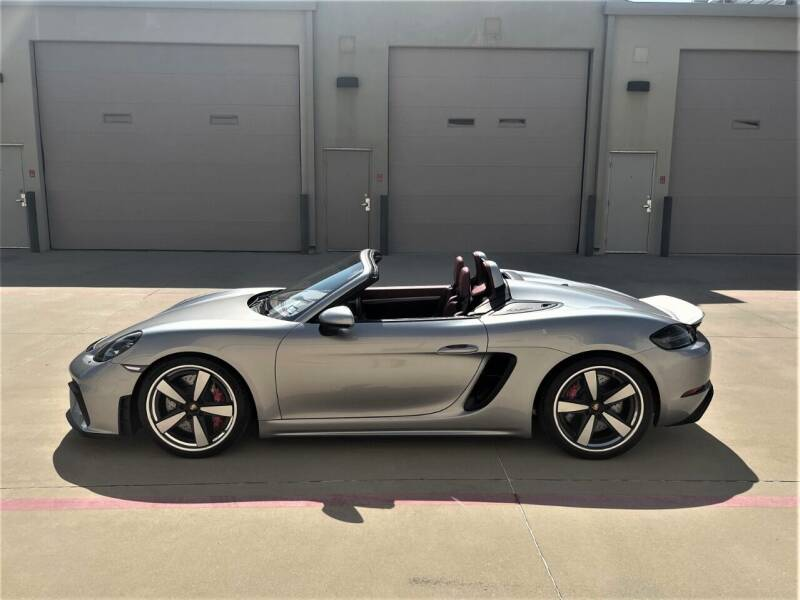 2020 Porsche 718 Boxster for sale at Enthusiast Motorcars of Texas in Rowlett TX