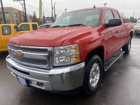 2012 Chevrolet Silverado 1500 for sale at Salem Motorsports in Salem OR