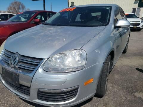 2006 Volkswagen Jetta for sale at BELOW BOOK AUTO SALES in Idaho Falls ID