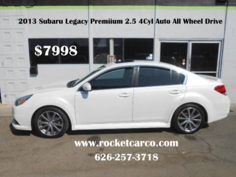 2013 Subaru Legacy for sale at Rocket Car sales in Covina CA