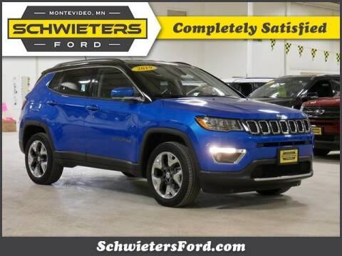 2019 Jeep Compass for sale at Schwieters Ford of Montevideo in Montevideo MN