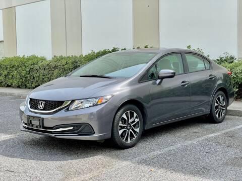 2015 Honda Civic for sale at Carfornia in San Jose CA
