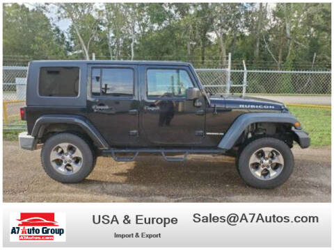 2007 Jeep Wrangler Unlimited for sale at A7 AUTO SALES in Daytona Beach FL